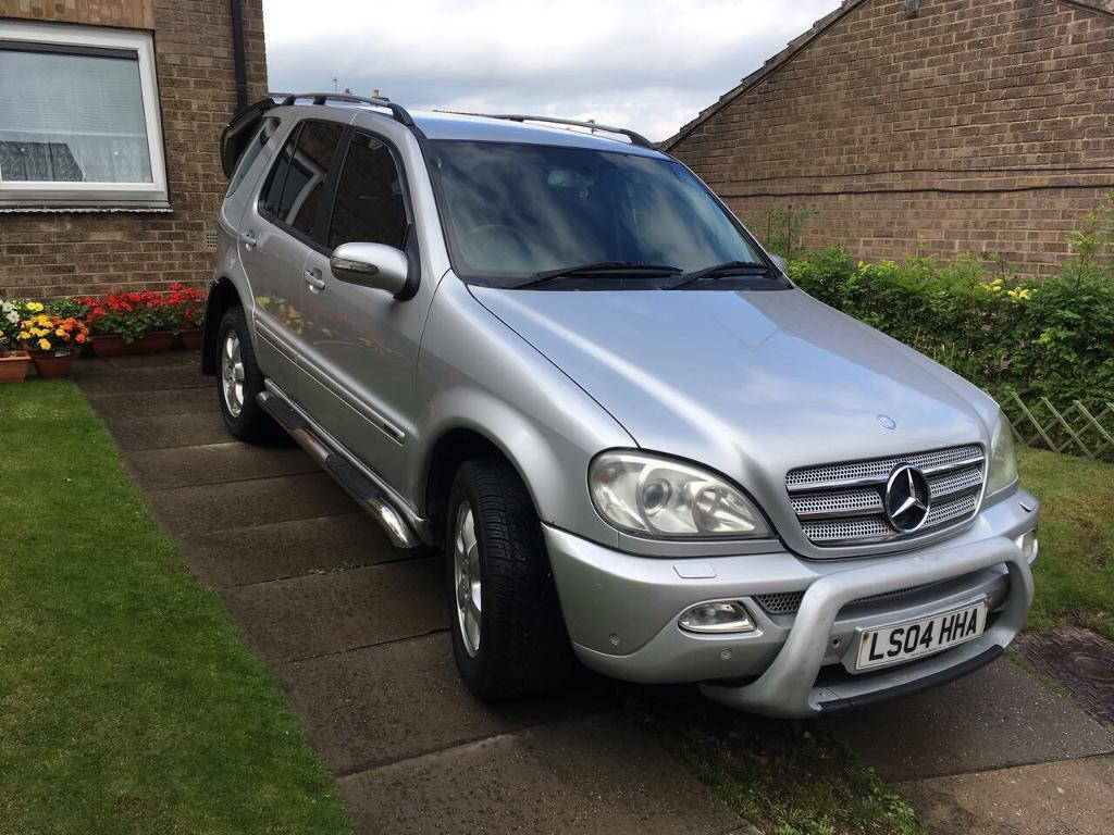 mercedes benz m class 2 7 ml270 cdi inspiration 5dr in sheffield south yorkshire gumtree. Black Bedroom Furniture Sets. Home Design Ideas
