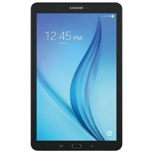 """Samsung Galaxy Tab E 8"""" LTE Android 6.0 Tablet - Black"""