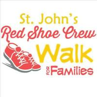St. John's Red Shoe Crew - Walk for Families