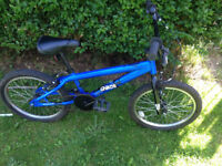 """Chaos boys bmx bike 20"""" wheels,bell,good condition fully working order"""