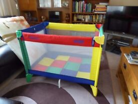Graco Travel Cot with Mattress