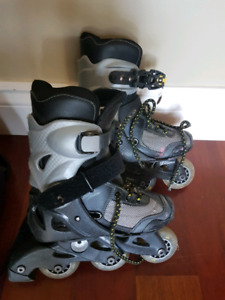 Kids adjustable rollerblades size 10 to 13