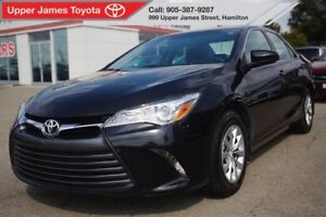 2016 Toyota Camry LE - Inspected by factory trained technicians.