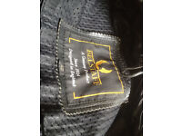 Two Motorcycle jackets - size 42 - black - Belstaff and Dallas