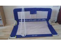 Blue Tomy Bed Rail/Guard.