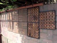 Block flooring hardwood Ikea Runnen Bargain One pound each tile