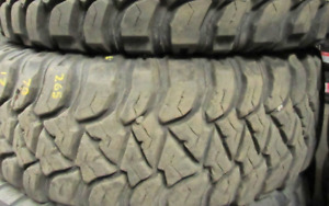 17 inch tires —2 of them—LT265-70-17(90-99 PERCENT TREAD) They a