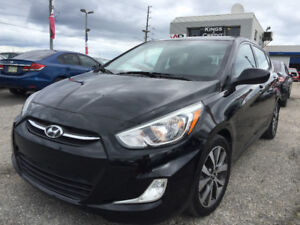 2015 Hyundai Accent Gls Hatchback/Sunroof/Heated seats/ only23km