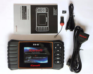 Ford Full System and OBD2 Scanner Code Reader FD II iCarsoft