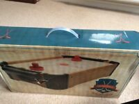 Table top Air Hockey game (brand new, in original box)