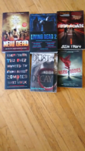 Lot of 6 Zombie Books