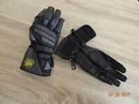 Motorcycle gloves, unlined, for the summer