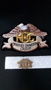 HOG Harley Patch and pin