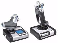 Saitek X52 HOTAS Flight Stick and Throttle
