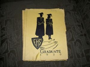 1950 Fredericton High School Yearbook