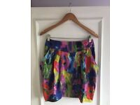 H&M garden collection skirt size 10/12