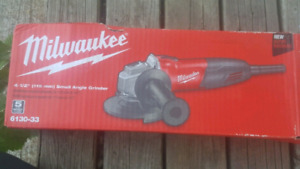 Milwaukee angle grinder