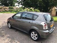 2004 Toyota Corolla Verso 2.0 D-4D T3 5dr FULLY HPI CLEAR 7 Seater Family Car @07445775115@