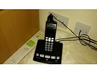 BT Edge 1500 Handset (with Built in Answering Machine ) Black- Excellent working Condition