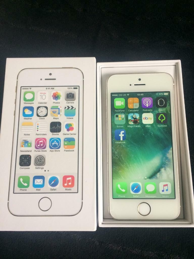 iPhone 5s 32GB unlocked Goldin Oldham, ManchesterGumtree - iPhone 5s 32GB unlocked fully working order with original box and charger in used condition have some scratches on its back and corners