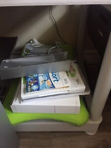 WII console with extras