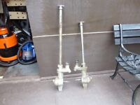 "two seagull gearboxes 4 or 5 hp 29 "" 35 "" long fit both engines both with shafts in them"