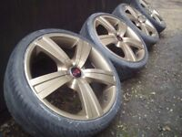 18' TSW Alloy Wheels 5x114 Honda Civic-Lexus-Toyota-Swift-Nissan-Hyundai-Mazda-K