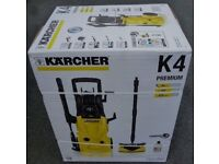 K4 premium pressure washer/jet wash
