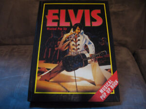 Elvis pop up book and Trivia game
