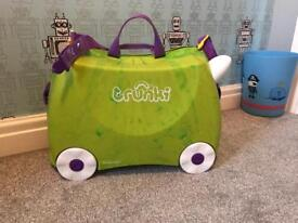Trunki saurus suitcase child's luggage