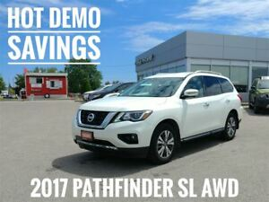 2017 Nissan Pathfinder SL AWD  Demo Savings  FREE Delivery