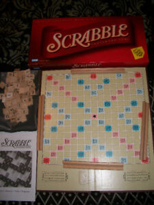 SCRABBLE GAME excellent cond.