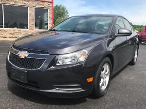 2014 Chevrolet Cruze 2LT-AUTO-REAR CAM-LEATHER-SUNROOF-ONLY 55KM