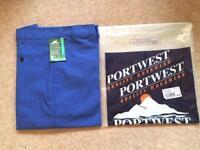Portwest Men's Working Trousers W36, L31