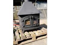 Villager log burner
