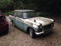 Triumph Herald petrol manual 1963 Green/White