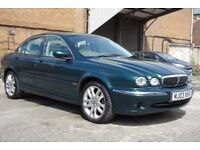 JAGUAR X-TYPE LOW MILEAGE & LONG MOT