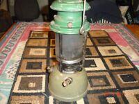 Hurricane lamp very old