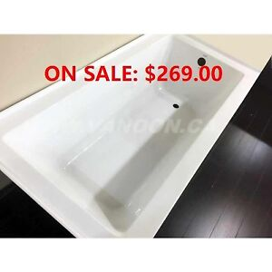 """Veaude 60"""" x 30"""" Bathtub, Vanities, Showers, Faucets and More"""