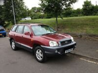 HYN SANTE FE 4X4 04 PLATE ONE OWNER 60,000 MILES FROM NEW ONE YEAR MOT SERVICE