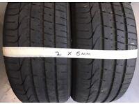 4 X 245 45 ZR 18 Pirelli PZero Tyres