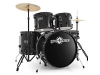 5 piece full size starter drum kit