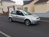 Ford Fiesta 5 door in silver ,drives well good condition ideal 1st car px welcome