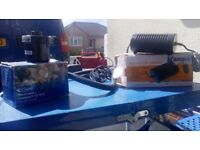 Done camping and selling items - electric pumps