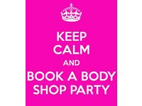 Body Shop at Home Party