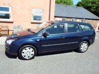 Ford Focus 1.6 diesel Estate with tow bar