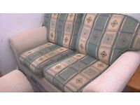 FREE FREE FREE 2 seater sofa and chair, table, 2 chairs, nest of tables