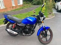 Sinnis Max 2 - 125cc Motorbike / Motorcycle - Learner Legal - Full service history - 2016