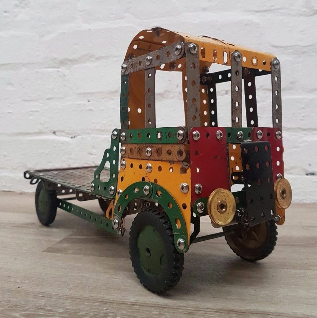 Meccano Truck (DELIVERY AVAILABLEin Edinburgh City Centre, EdinburghGumtree - Great condition. Please Note This item is located in Falkirk for a viewing, Delivery available for Edinburgh. If you cant make it over for a viewing then we can deliver straight to your home, payment on delivery. Thankyou