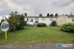 Lovely 5 bedroom, 1 and a half bath bungalow.